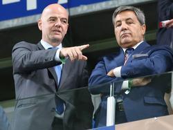 FIFA-Boss Infantino zeigt an, wo es langgeht