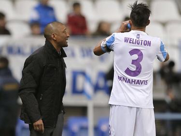 Marcelo Romero (links im Bild) übernimmt als Málaga-Coach