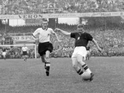 Horst Eckel (l.) im Finale der WM 1954