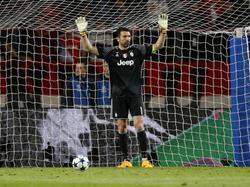 Juve-Keeper Gianluigi Buffon will seinen Kasten wieder sauber halten