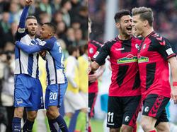 Hertha und Freiburg hoffen auf den BVB