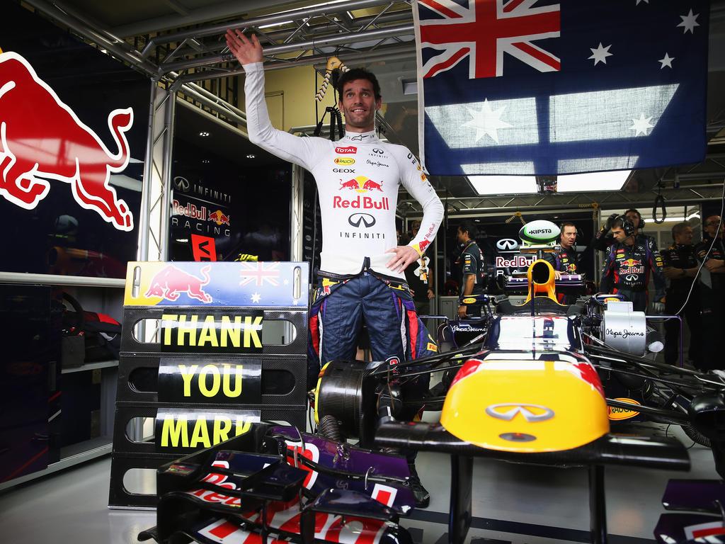 Mark Webber - 215 Starts