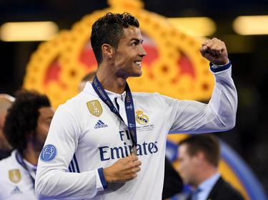 Cristiano Ronaldo gewann mit Real Madrid 2017 die Champions League