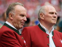 Karl-Heinz Rummenigge und Uli Hoeneß wollen in sechs Wochen einen neuen Sportdirektor vorstellen