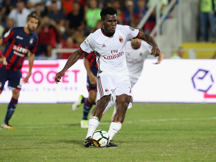 Franck Kessié brachte den AC Mailand schon nach sechs Minuten mit 1:0 in Führung