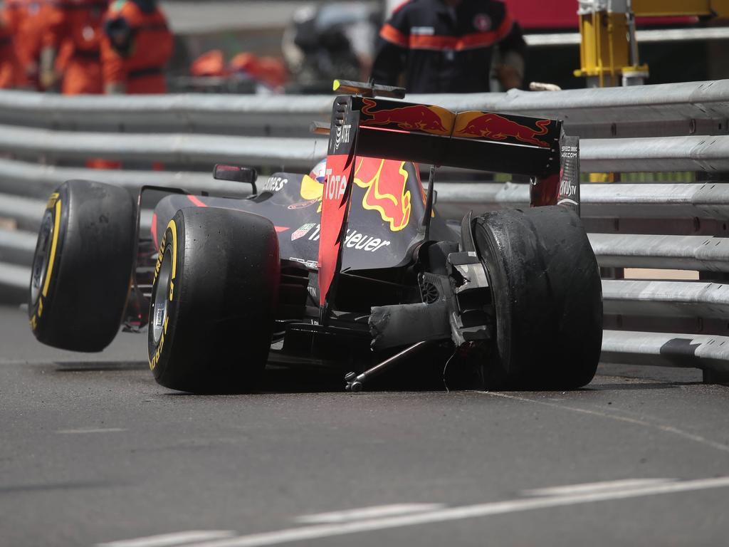 Pure Enttäuschung: Verstappen erlebte ein verkorkstes Monaco-Wochenende