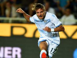 Ciro Immobile hat für Lazio getroffen