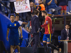 Polarisiert in Spanien: Gerard Piqué (r.)