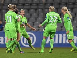 Die Damen des VfL Wolfsburg stehen im Pokal-Halbfinale