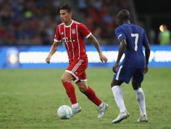 James Rodríguez ist sich sicher, mit dem FC Bayern die richtige Wahl getroffen zu haben