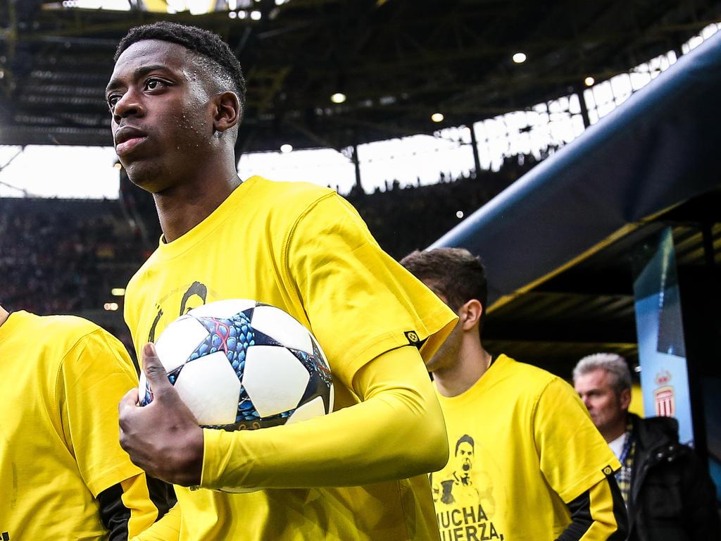 Fussball: Barcelona bestätigt Verpflichtung von Dembele