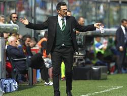 Eusebio Di Francesco zollt dem Gegner Respekt