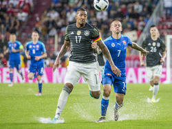 Jérôme Boateng trug gegen die Slowakei die Kapitänsbinde
