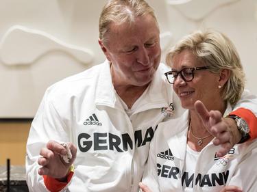 Horst Hrubesch trainiert das Herren-Olympia-Team der Fußballer