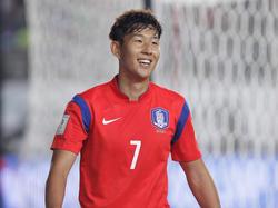 Heung-Min Son wurde wieder in den Kader Südkoreas berufen