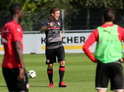 Stuttgart-Coach Hannes Wolf lässt keine Ausreden gelten