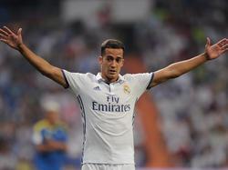 Kommt her: Lucas Vázquez bleibt langfristig bei Real Madrid