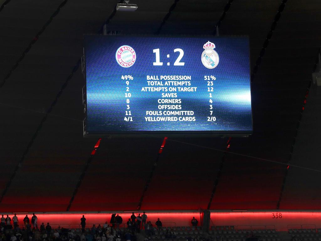 Champions League am Dienstag - Liveticker: Real Madrid gegen FC Bayern München