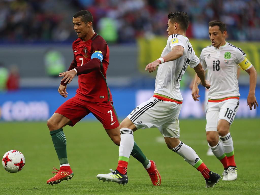 Cristiano Ronaldo war gegen Mexiko der beste Mann auf dem Feld