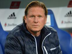 Markus Gisdol steht vor dem Auswärtsspiel in Leverkusen