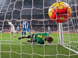Karim Benzema erzielte einen Treffer gegen Espanyol