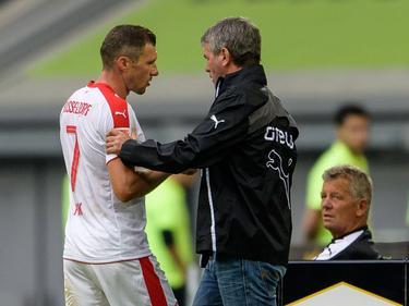 Düsseldorfs Oliver Fink musste gegen Bochum ausgewechselt werden