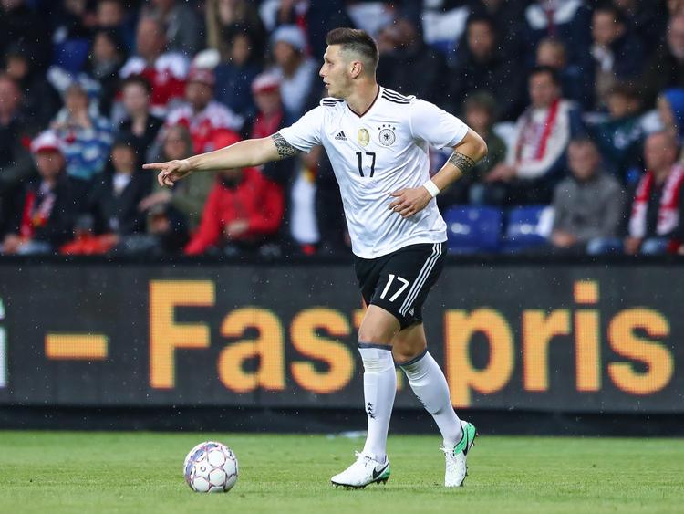 Niklas Süle blickt beim Confed Cup in Richtung Finale