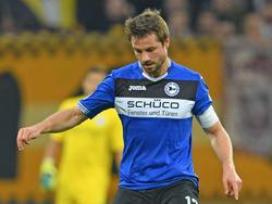 Julian Börner glich für Arminia Bielefeld gegen den 1. FC Heidenheim aus