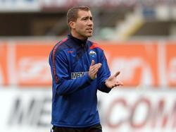Florian Fulland coacht interimsweise den SC Paderborn