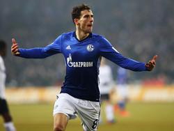 Leon Goretzka erzielte das zweite Tor für Schalke 04