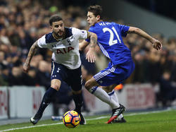 Kyle Walker (l.) könnte in der nächsten Saison für Chelsea spielen