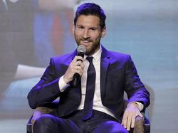 Messi durante su gira en China en Junio. (Foto: Getty)