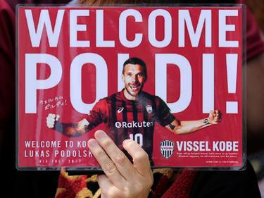 Lukas Podolski muss nicht mehr lange auf sein Debüt bei Vissel Kobe warten