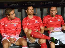 Philipp Lahm, Xabi Alonso und Franck Ribéry wurden in der letzten Saison zusammen deutscher Meister