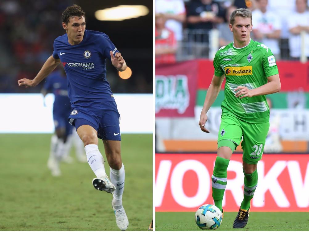 Mönchengladbach: Top-Abgang: Andreas Christensen; Top-Zugang: Matthias Ginter