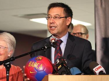 Josep Maria Bartomeu will den FC Barcelona aus der politischen Diskussion raushalten