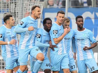 Die Stuttgarter Kickers dürfen jubeln