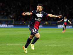 Lavezzi llegó a París en 2012 procedente del Nápoles por 31 millones de euros. (Foto: Getty)
