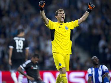 Iker Casillas volverá a disputar la Champions con el Oporto. (Foto: Getty)