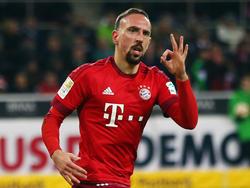 Ribéry präsentiert sich derzeit äußerst motiviert