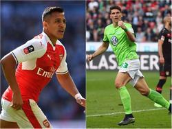 Drei potenzielle Kandidaten für den FC Bayern: Alexis Sanchez, Mario Gomez und Kyle Walker