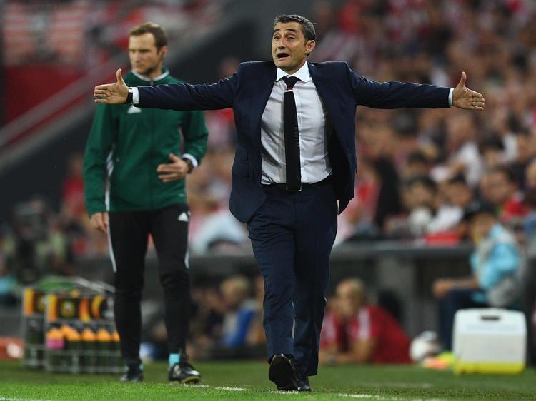 Ernesto Valverde ist der neue Chefcoach des FC Barcelona