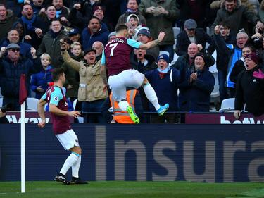El West Ham sacó una gran recompensa de su único tanto. (Foto: Getty)