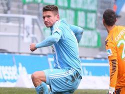 Der Chemnitzer Daniel Frahn muss zwei Spiele pausieren