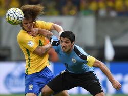 Luis Suárez traf zum 2:2 gegen Brasilien