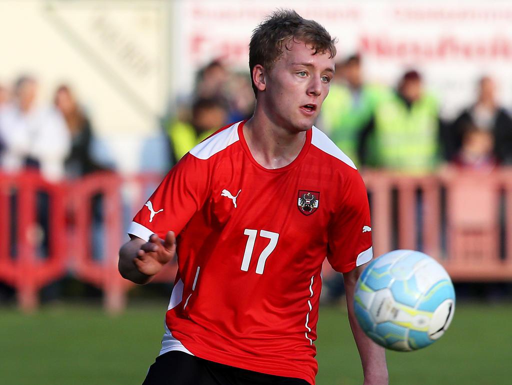Fabian Gmeiner versucht es beim Hamburger SV