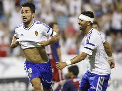 El Real Zaragoza logró la victoria en el estreno del nuevo técnico. (Foto: Imago)