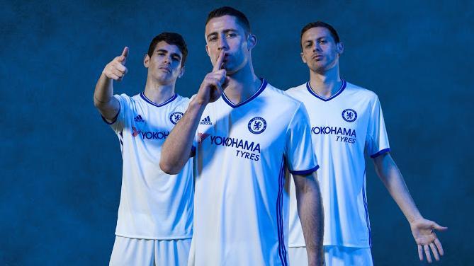 FC Chelsea (Auswärtstrikot)