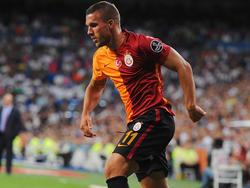 Für Lukas Podolski reichte es mit Galatasaray bei Bursaspor nur zu einem 1:1