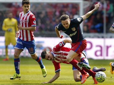 Atletico Madrid verlor in Gijón